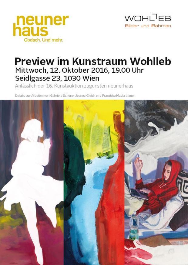Preview im Kunstraum Wohlleb
