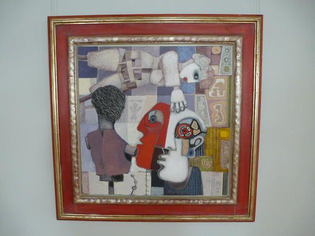 Werke von nationalen und internationalen Künstlern